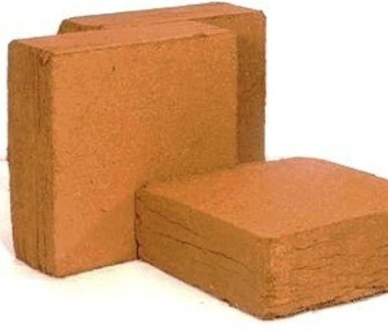 4 ANGLES Natural Cocopeat Block Garden Mulch(orange 1)