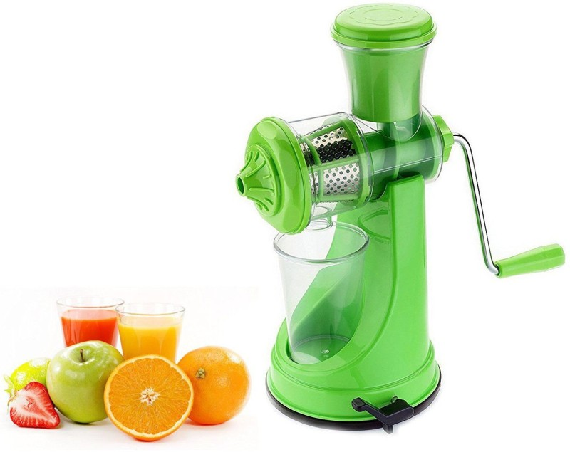 Lucky Box Classic juicer Plastic, Stainless Steel Hand Juicer(Green Pack of 1)