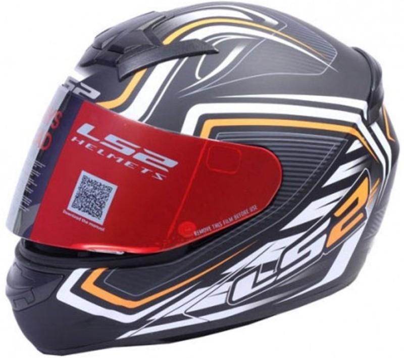 LS2 fullface helmet (352) Motorbike Helmet(MATT BLACK)