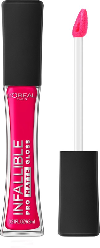 LOreal Paris Infallible Pro Matte Gloss(6.3 ml, Aphrodite Kiss)