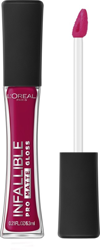 LOreal Paris Infallible Pro Matte Gloss(6.3 ml, Forbidden Kiss)