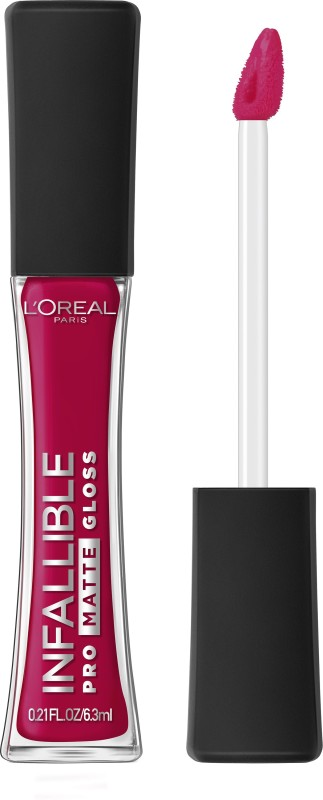 LOreal Paris Infallible Pro Matte Gloss(6.3 ml, Rouge Envy)