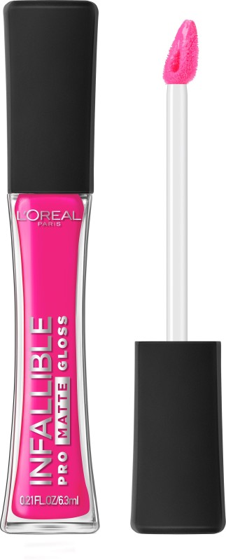 LOreal Paris Infallible Pro Matte Gloss(6.3 ml, Fuchsia Amnesia)