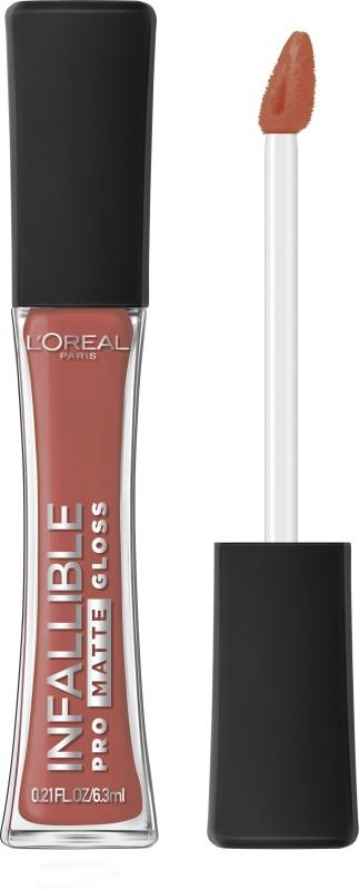 LOreal Paris Infallible Pro Matte Gloss(6.3 ml, Bare Attraction)