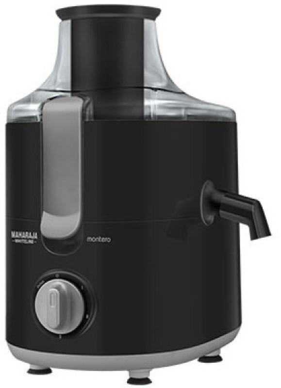 Maharaja Whiteline JUICER MIXER GRINDER MONTERO 550 W Juicer Mixer Grinder(Silver, Black, 3 Jars)