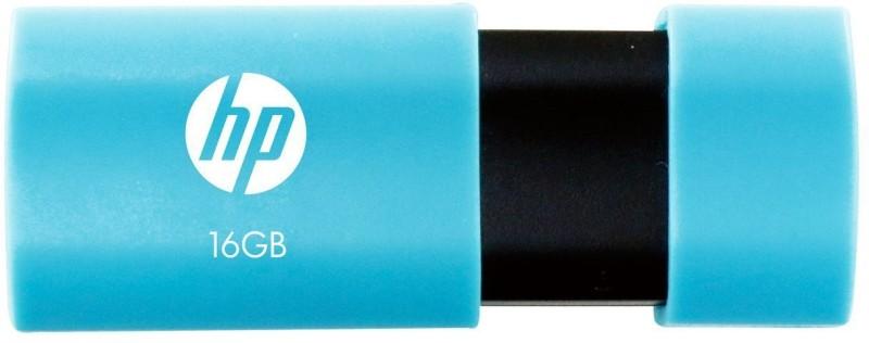 HP V152W 16 GB Pen Drive USB 2.0 Flash Drive (Blue) 16 GB Pen Drive(Blue, Black)