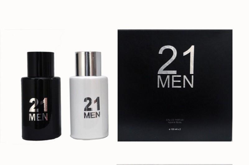 21 MEN BLACK AND WHITE Eau de Toilette - 100 ml(For Men & Women)