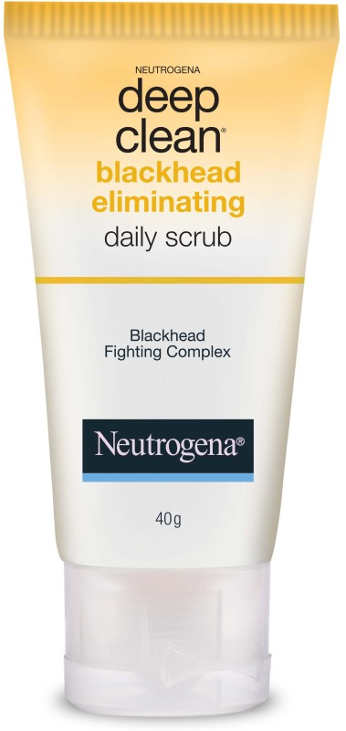 Neutrogena Deep Clean Blackhead Eliminating Daily Scrub(40 g)