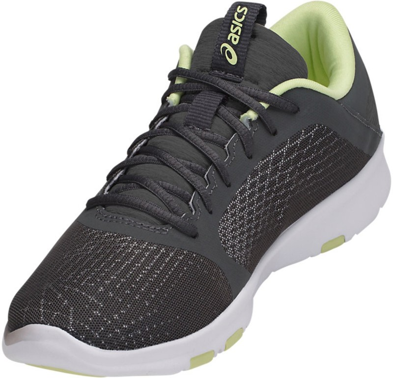 Asics Gel-Fit Tempo III Womens High Impact Training Gym Shoes, Carbon/Limelight/Silver - 6 US Walking Shoes For Men(Multicolor)