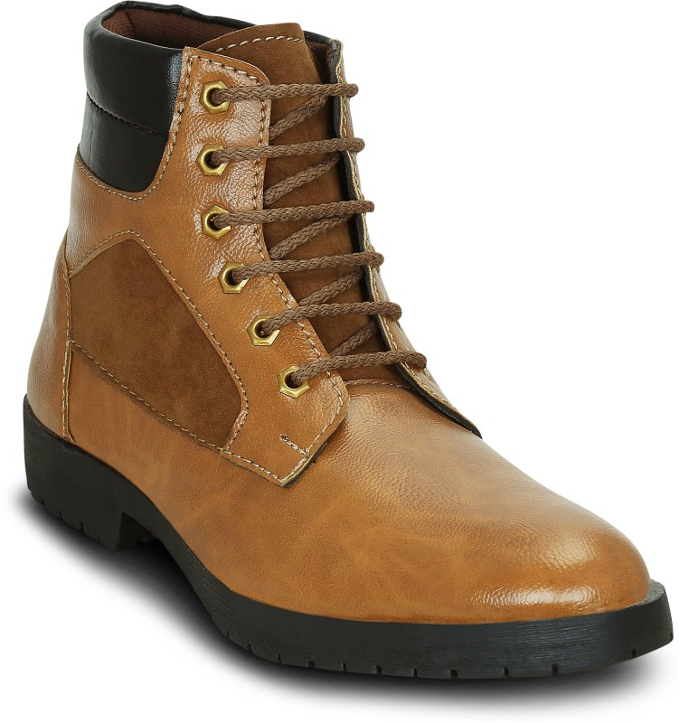 Get Glamr Boots For Men(Tan)