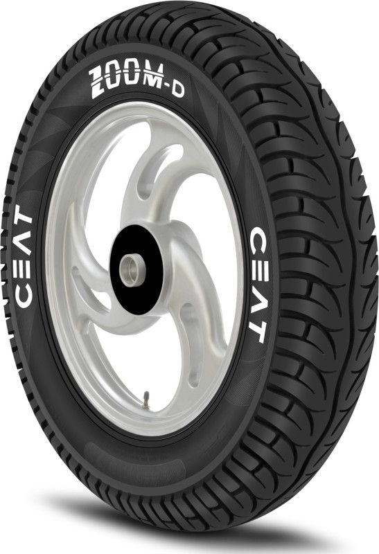 CEAT 101902 ZOOM D 3.00-10 Front & Rear Tyre(Street, Tube)