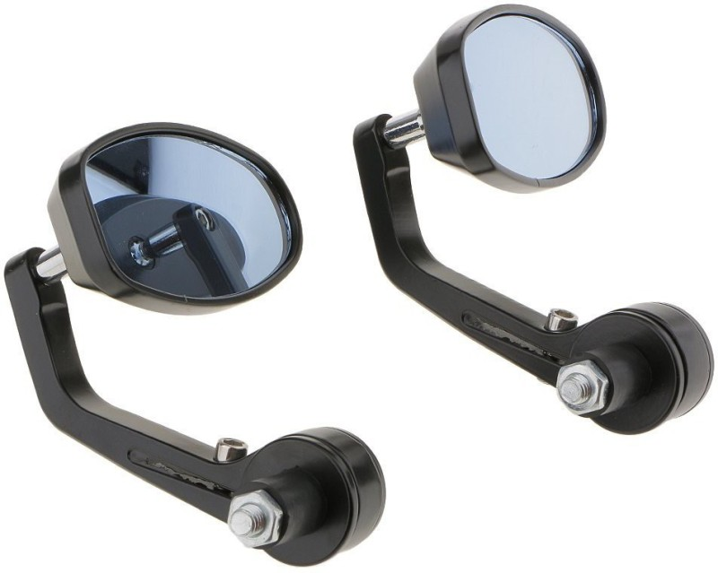 Autofit Manual Dual Mirror For Royal Enfield A4(Left, Right)
