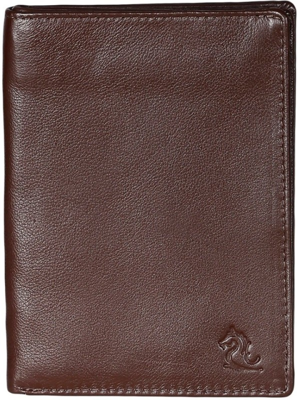 Kara Men Tan Genuine Leather Document Holder(8 Card Slots)