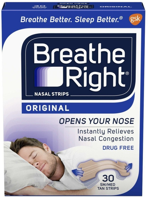 Breathe Right 3024-S Anti-snoring Device(Nasal Strip)