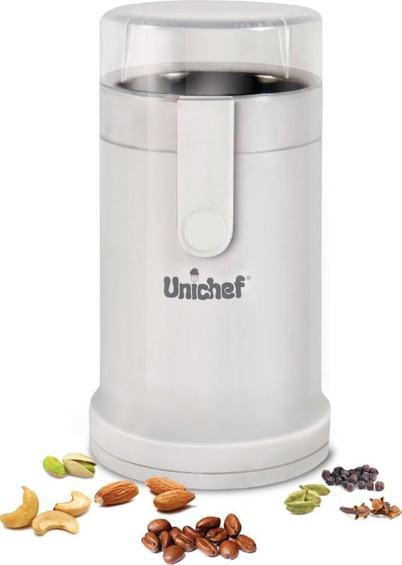Unichef Chhutki Coffee/Dry Grinder Personal Coffee Maker(White)