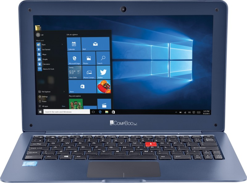 iBall CompBook Celeron Dual Core - (3 GB/32 GB EMMC Storage/Windows 10 Home) Merit G9 Laptop(11.6 inch, Cobalt Blue, 1.1 kg)