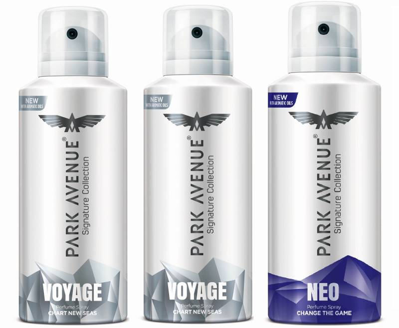 Park Avenue Signature - Voyage, Neo Deodorant Spray - For...