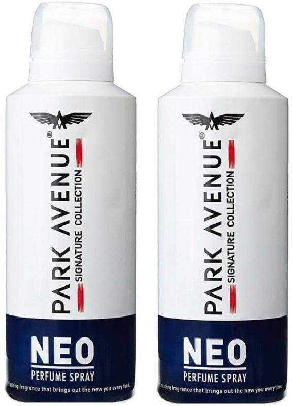 Park Avenue Neo 220ml Each Deodorant Spray - For Men(440 ml, Pack of 2)