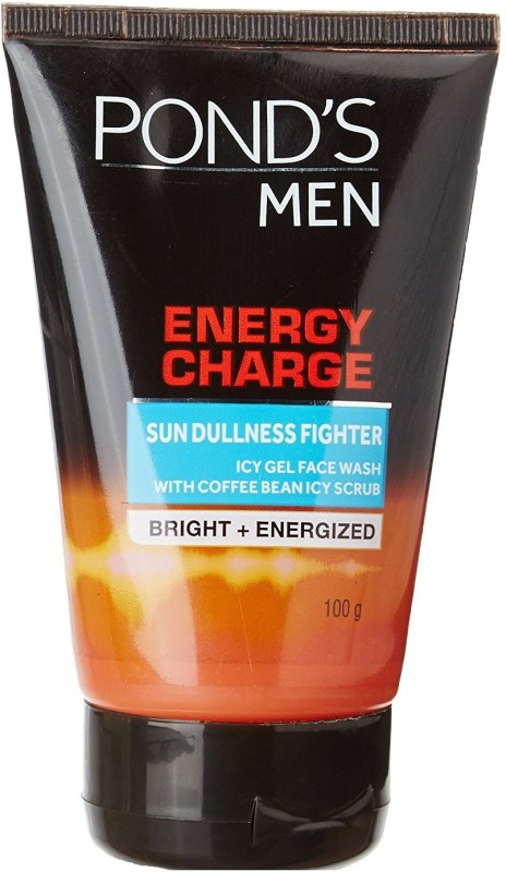 Ponds Men Energy Charge Icy Gel Face Wash, 100g Face Wash(100 g)
