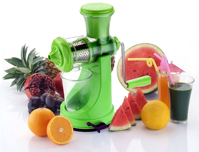 Fashion mystery hand juicers for fruits and vegetables Plastic Hand Juicer(Green Pack of 1)