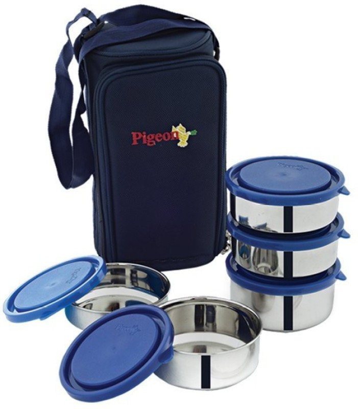 Pigeon Lunch Box - 5 5 Containers Lunch Box(350 ml)
