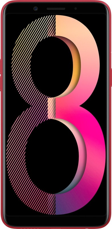 OPPO A83 (2018 Edition) (Red, 64 GB)(4 GB RAM)