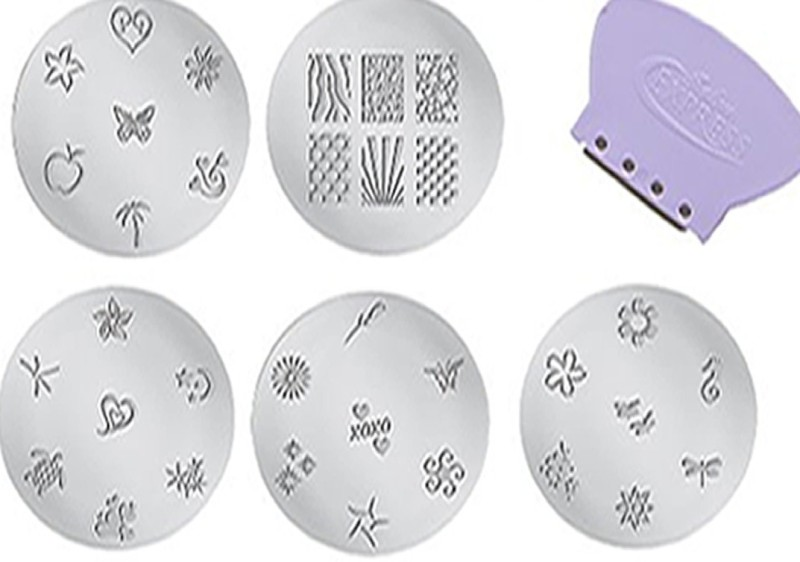 Airomart NAIL ART 3D Effect 1 gm(purple)