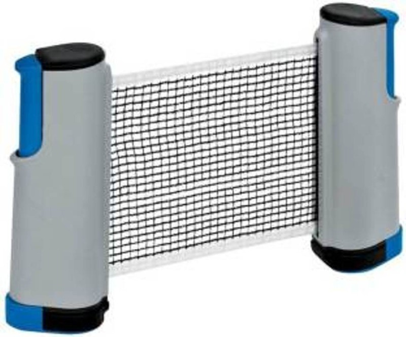DALUCI Premium Quality and Innovative Retractable Table-Tennis Net with Adjustable Length and Push Clamps - Easy, Portable and Fits Most Tables Table Tennis Net(Multicolor)