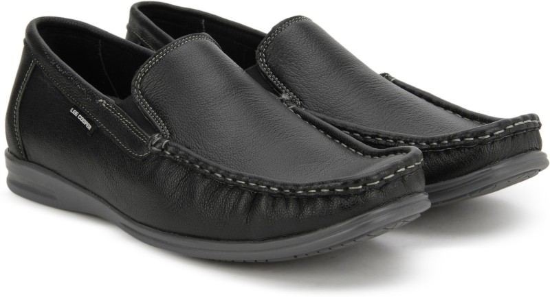 Lee Cooper Loafers For Men(Black)