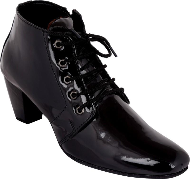 Exotique EL0060BK Boots For Women(Black)