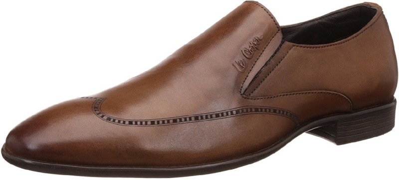 Lee Cooper Mens Formal Slip On For Men(Tan)