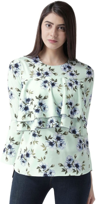 MsFQ Casual Full Sleeve Printed Women's Multicolor Top