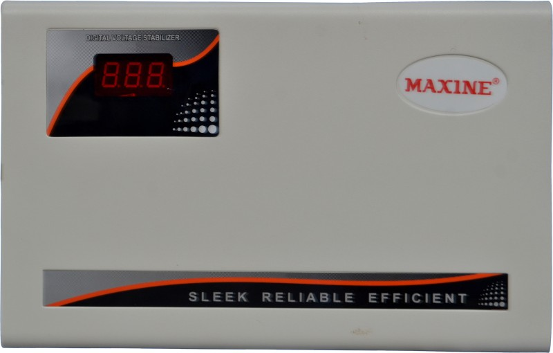 Maxine 5TB AC Stabilizer (5KVA Triple Booster - Pick Up From 130v)(White)