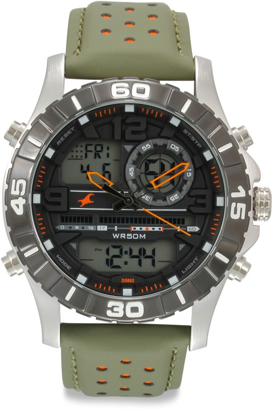 Fastrack 38035SL03 Analog-Digital Watch - For Men