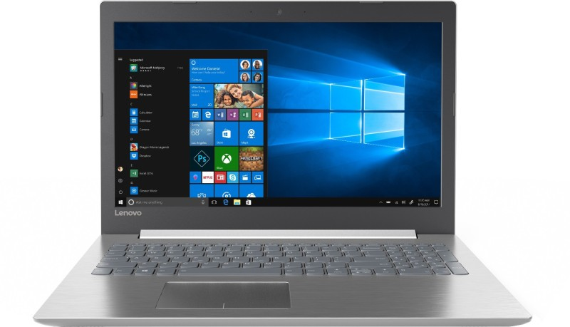 Lenovo Ideapad 320 Core i7 7th Gen - (8 GB/1 TB HDD/Windows 10 Home/2 GB Graphics) IP 320-15IKB Laptop(15.6 inch, Platinum Grey, 2.2 kg, With MS Office) image
