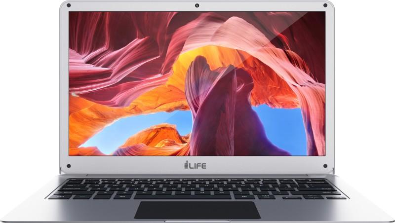 LifeDigital ZED Series Atom Quad Core - (2 GB/32 GB EMMC Storage/Windows 10 Home) ZED Air Silin / ZED Air Laptop(14 Inch, Silver, 1.36 kg)