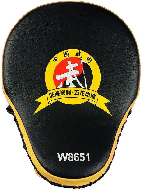 Jern Target MMA Boxing Mitt Focus Punch Pad Training Glove Karate Muay Thai Kick Focus Pad(Yellow)
