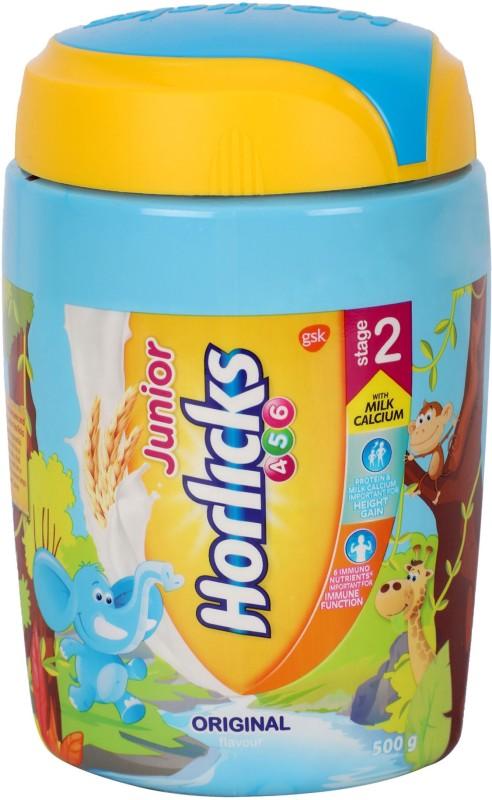 Junior Horlicks Chocolate Flavour Stage 2 500 G Noveltycart
