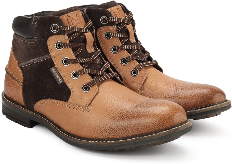 Lee Cooper LC2053 Boots For Men(Tan)