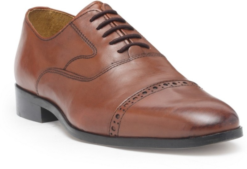 Hats Off Accessories Lace Up For Men(Brown)