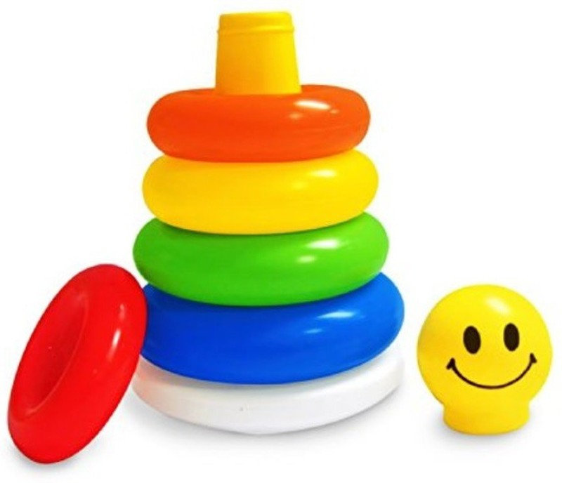 Generic Stacking Ring Toy(Multicolor)