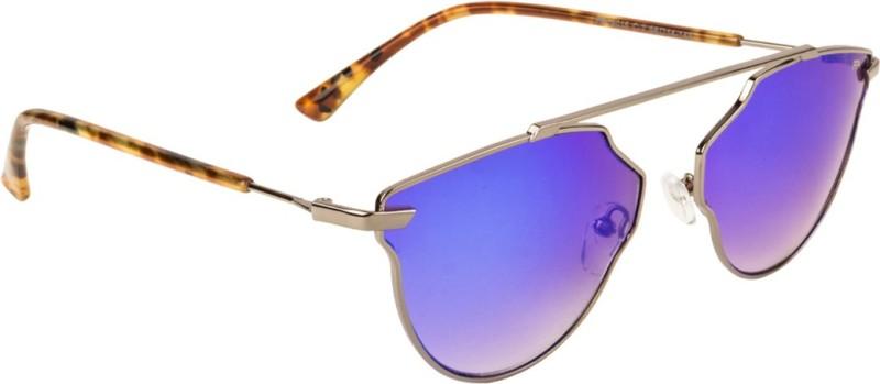 Farenheit Aviator Sunglasses(Blue)