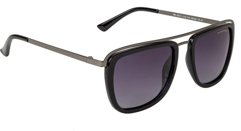 Farenheit Retro Square Sunglasses(Violet)