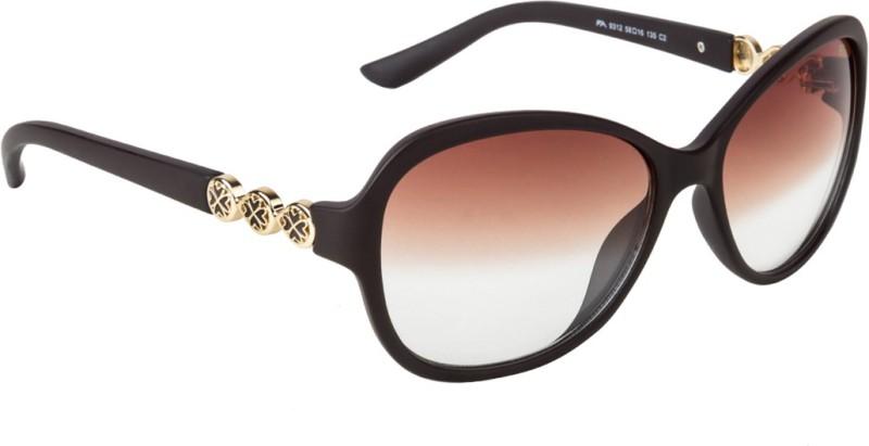 Farenheit Butterfly Sunglasses(Brown)