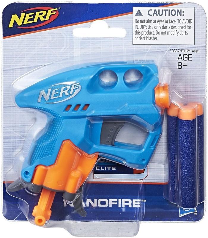 Nerf N-Strike Nano Fire, Blue(Blue)