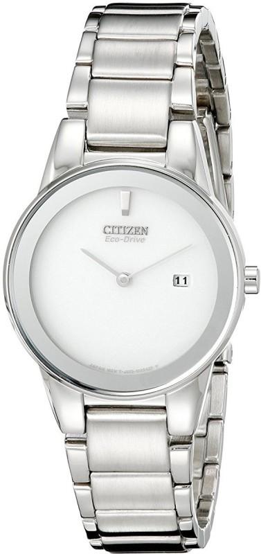 Citizen Silver 9609 Citizen Women's GA1050-51A Eco-Drive Axiom Stainless Steel Watch Analog Watch - For Women