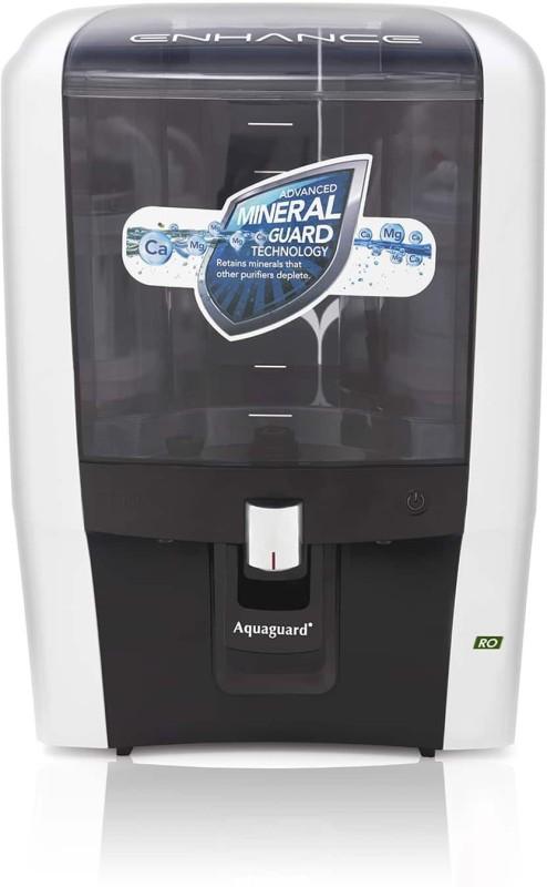 Eureka Forbes enhance green ro 7 l 7 L RO Water Purifier(BLACK & WHITE)
