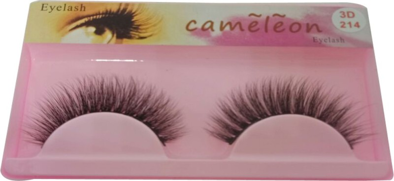 Cameleon 3D Eyelash For girls(Pack of 1)