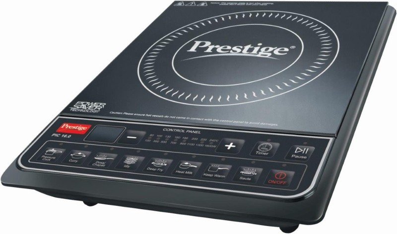 Prestige PIC 16.0 Induction Cooktop(Black, Push Button)