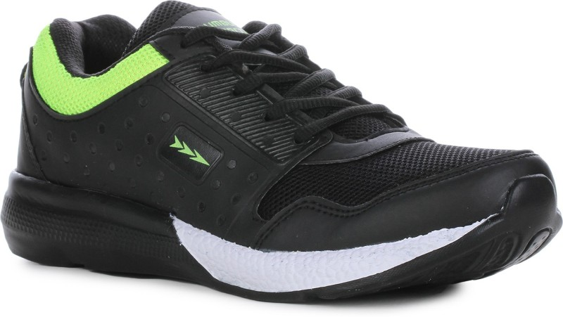 Columbus TB-330 Running Shoes For Men(Black, Green)